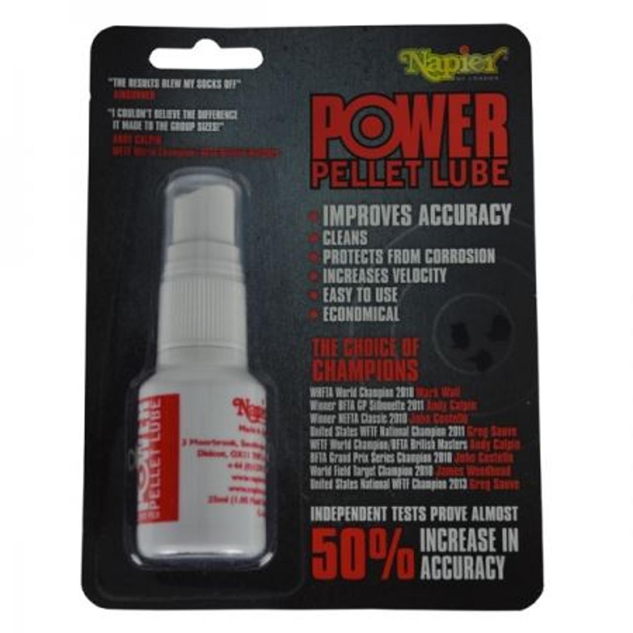 Napier Power Pellet Lube Spray Bottle