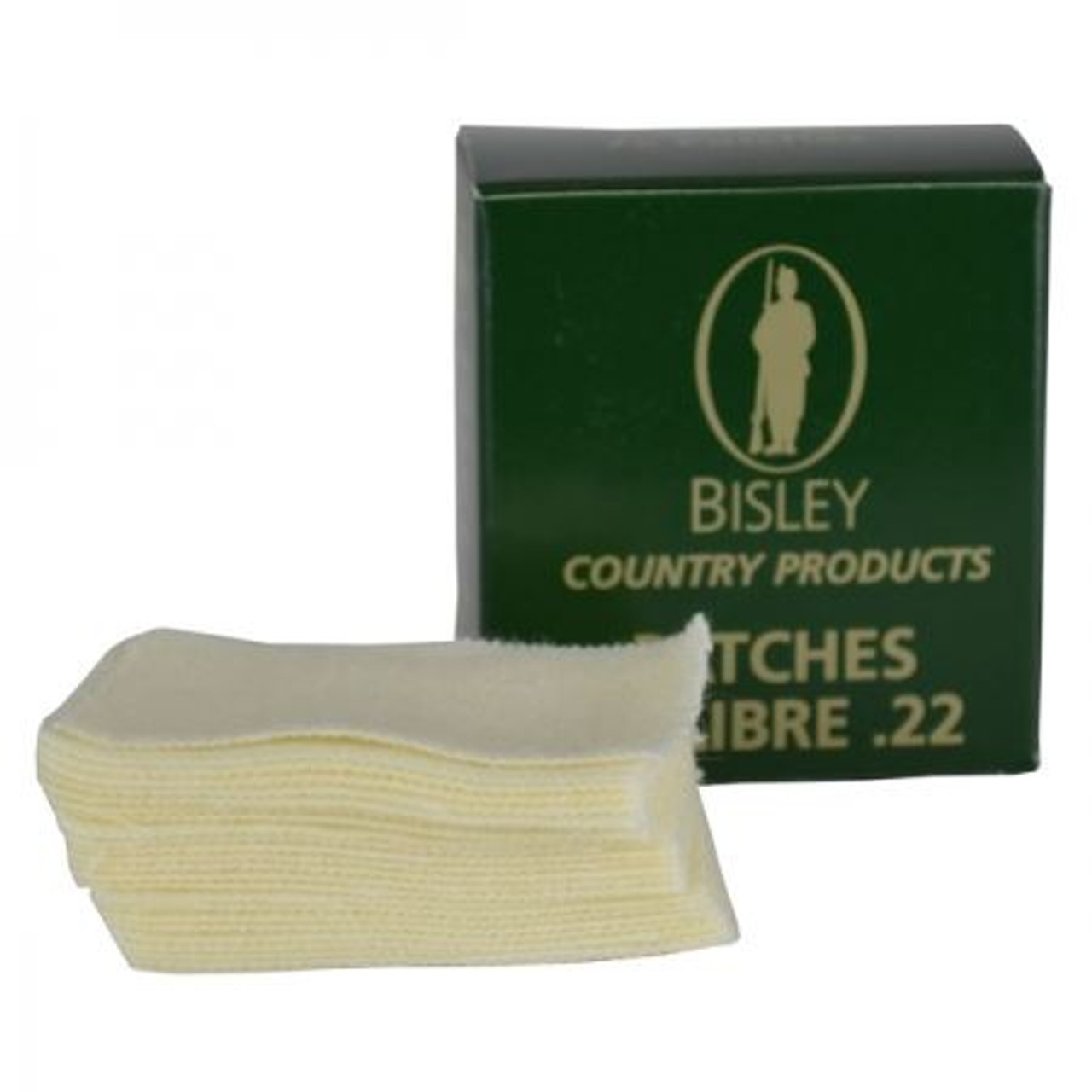 Bisley .22 Rifle Cleaning Patches