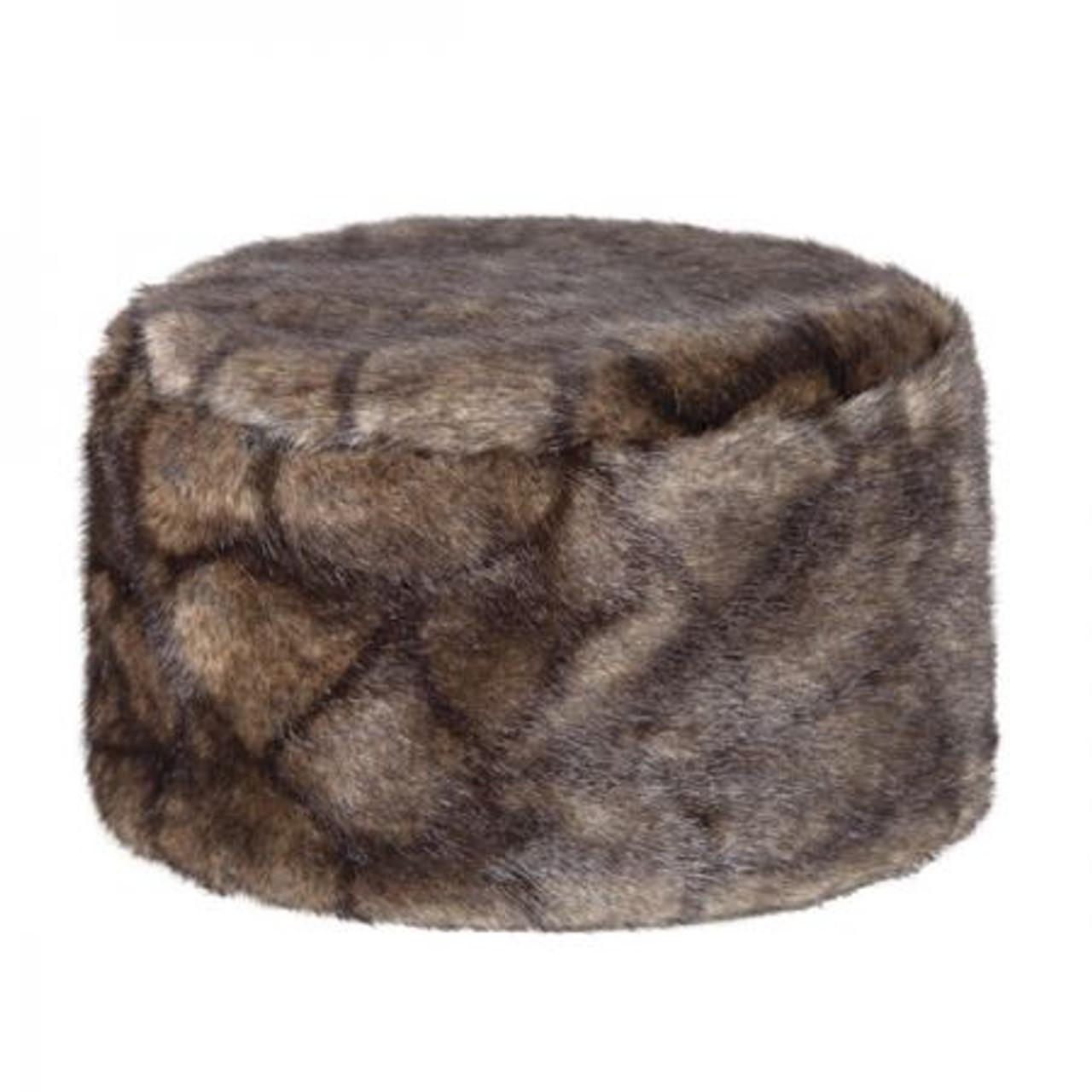 Dubarry Avoca Fur Pill Box Hat in Elk