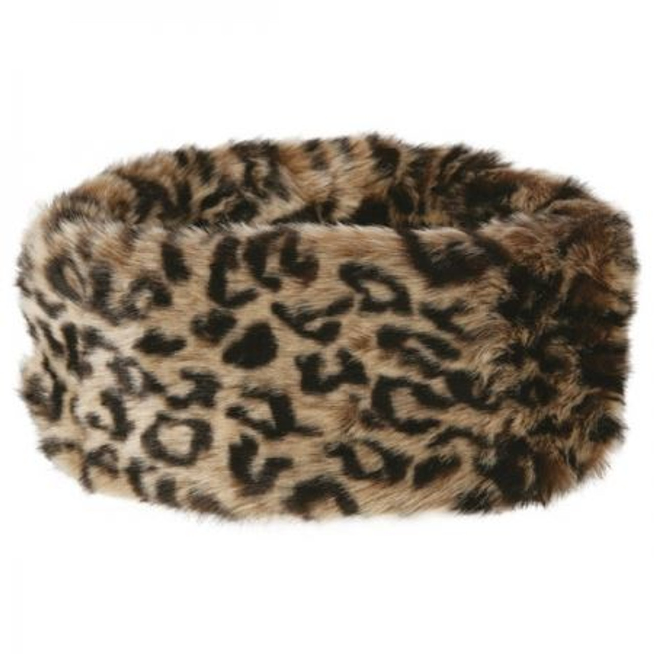 Dubarry Ladies Faux Fur Headband in Leopard