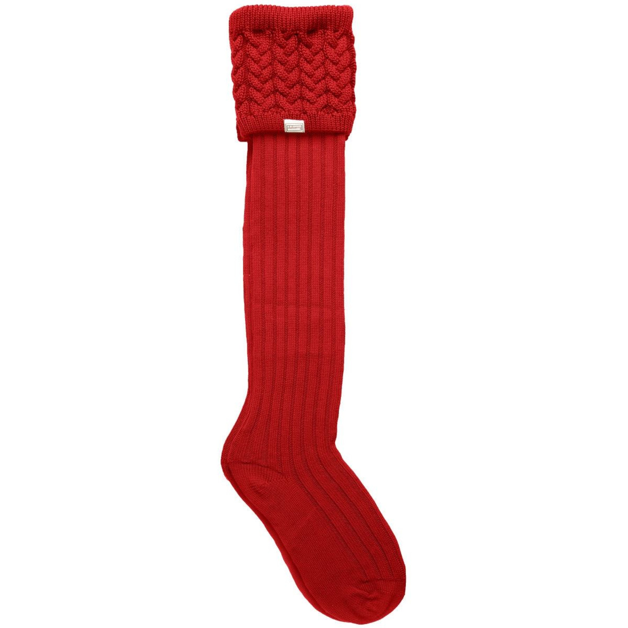 Dubarry Trinity Knitted Sock in Merlot