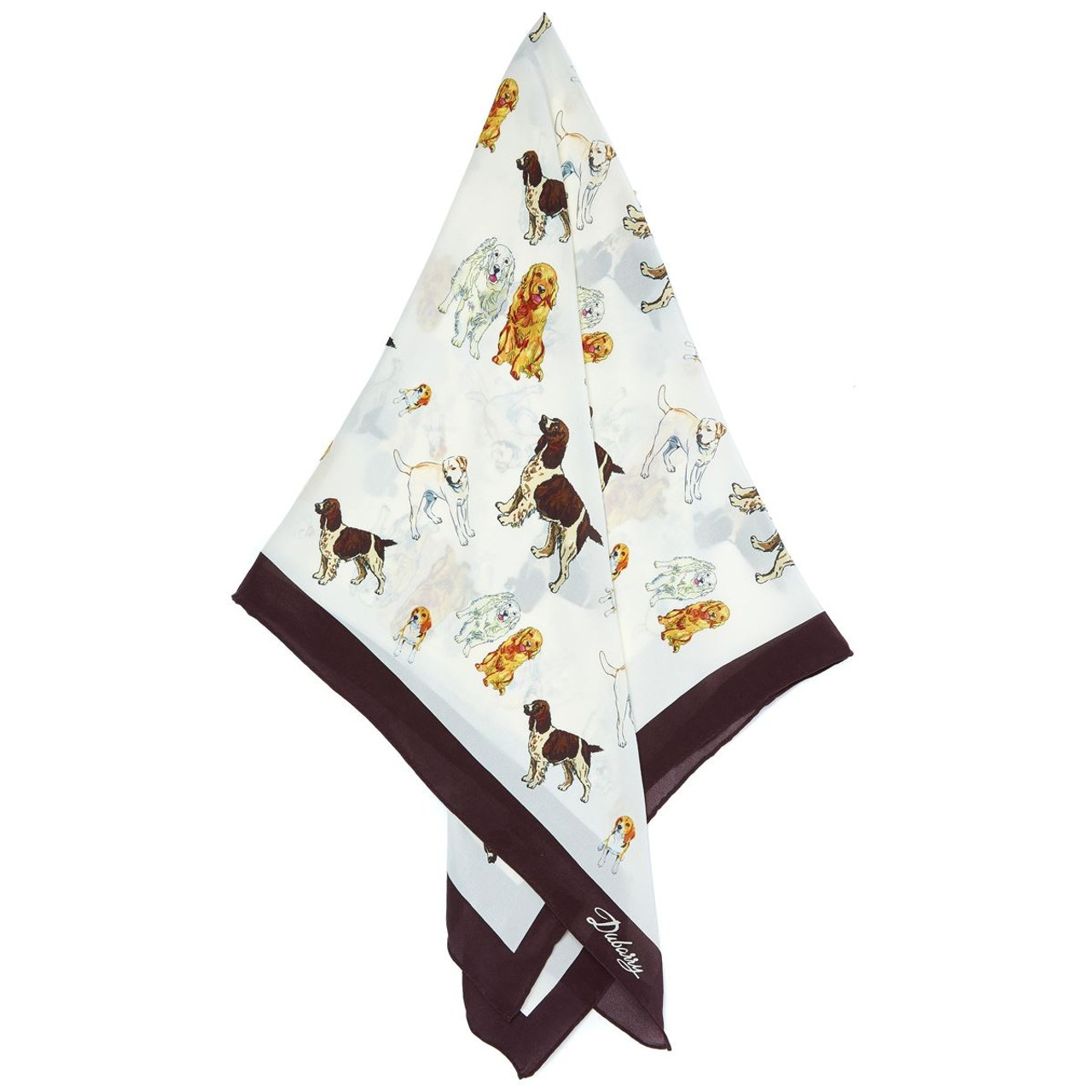 Dubarry Russborough Scarf in Canine Print