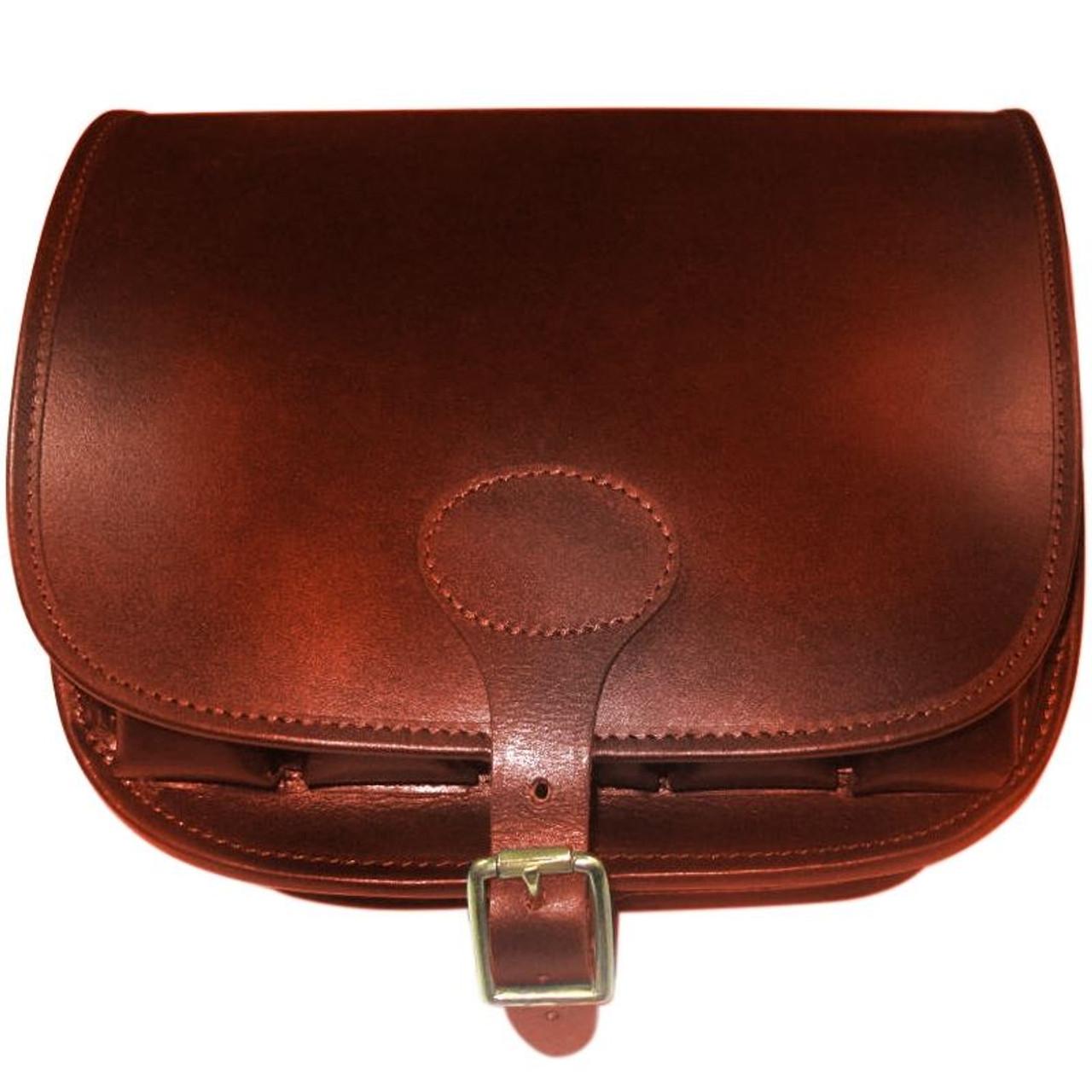 Teales Premier Leather Loader Bag in Harness Brown
