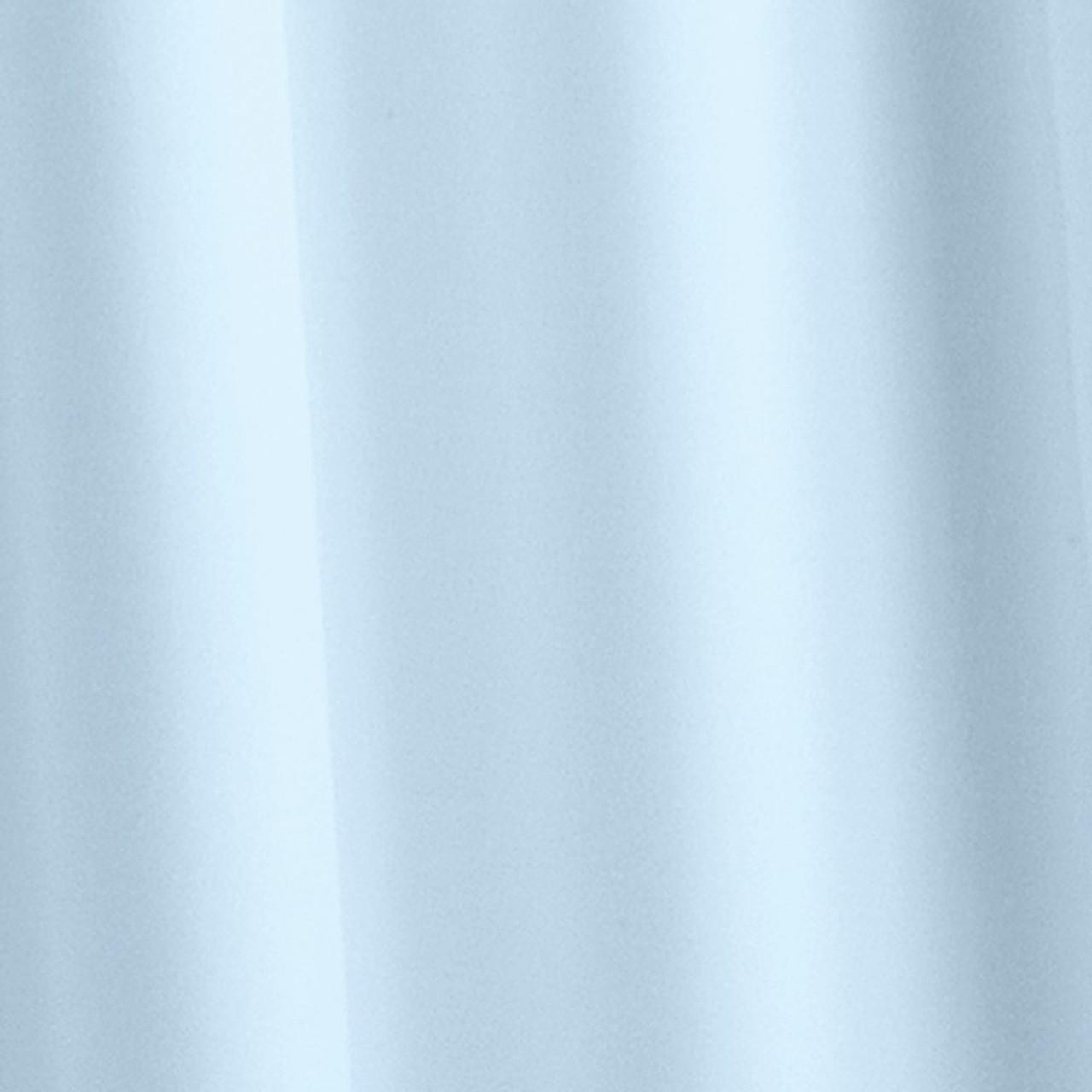 Croydex Plain Textile Shower Curtain