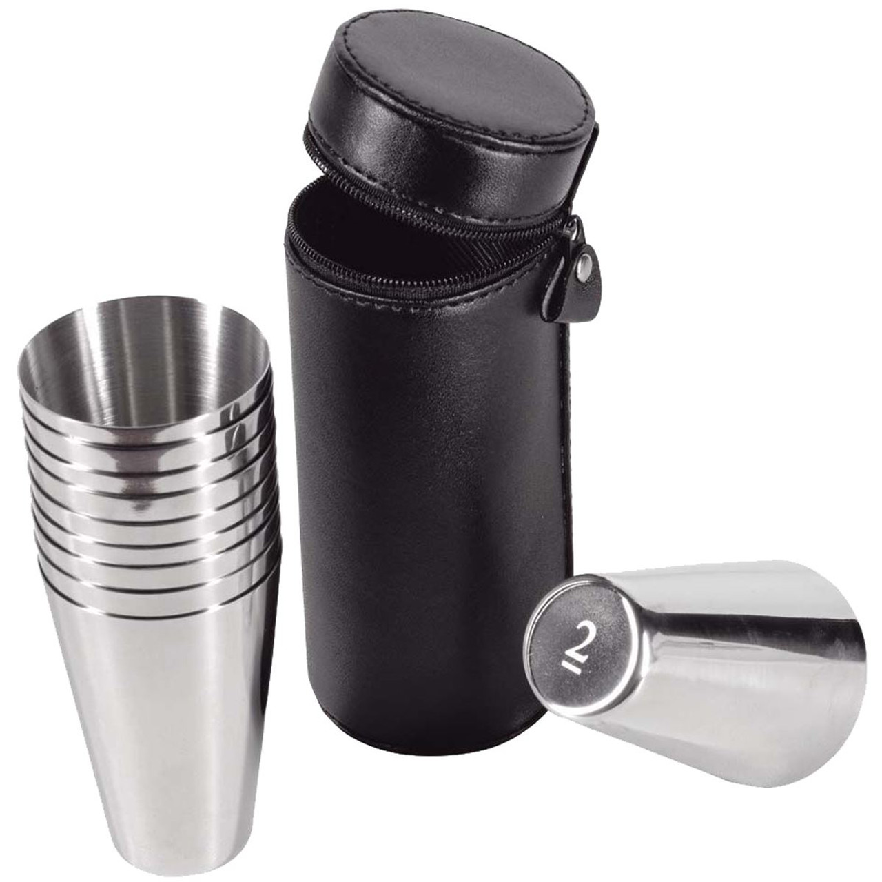 Stainless Steel Bisley 2oz Numbered Cups