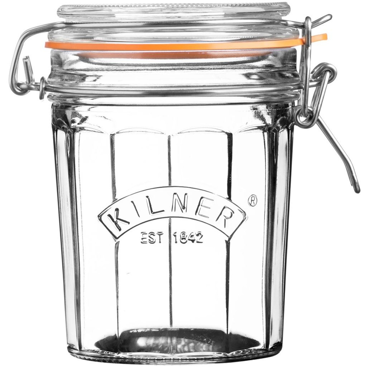 Kilner Facetted Clip Top Jar 0.45L