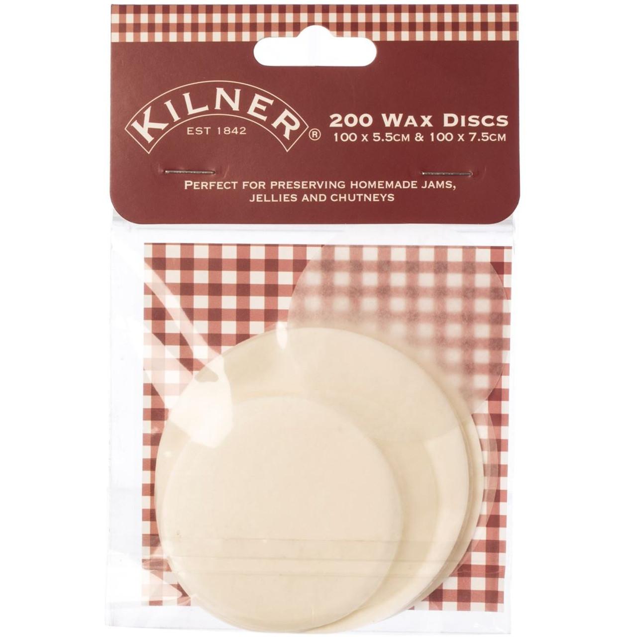 Kilner Pack of 200 Wax Discs