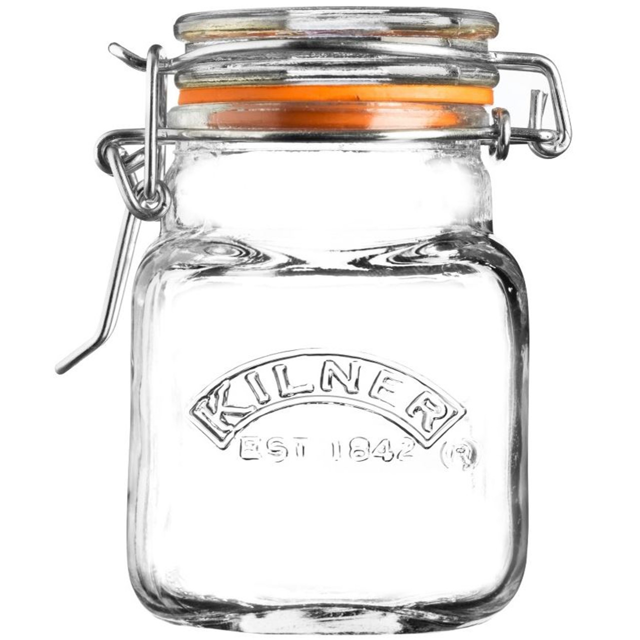 Kilner Cliptop Square Spice Jar 70ml