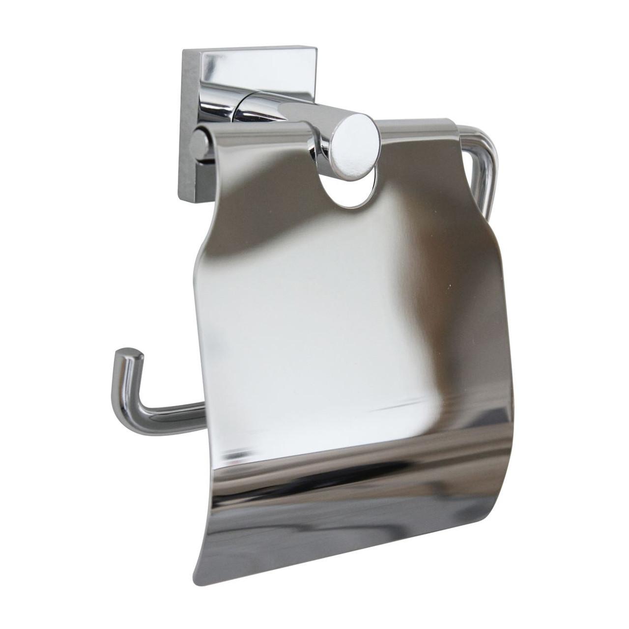 Miller Atlanta Toilet Roll Holder With Lid