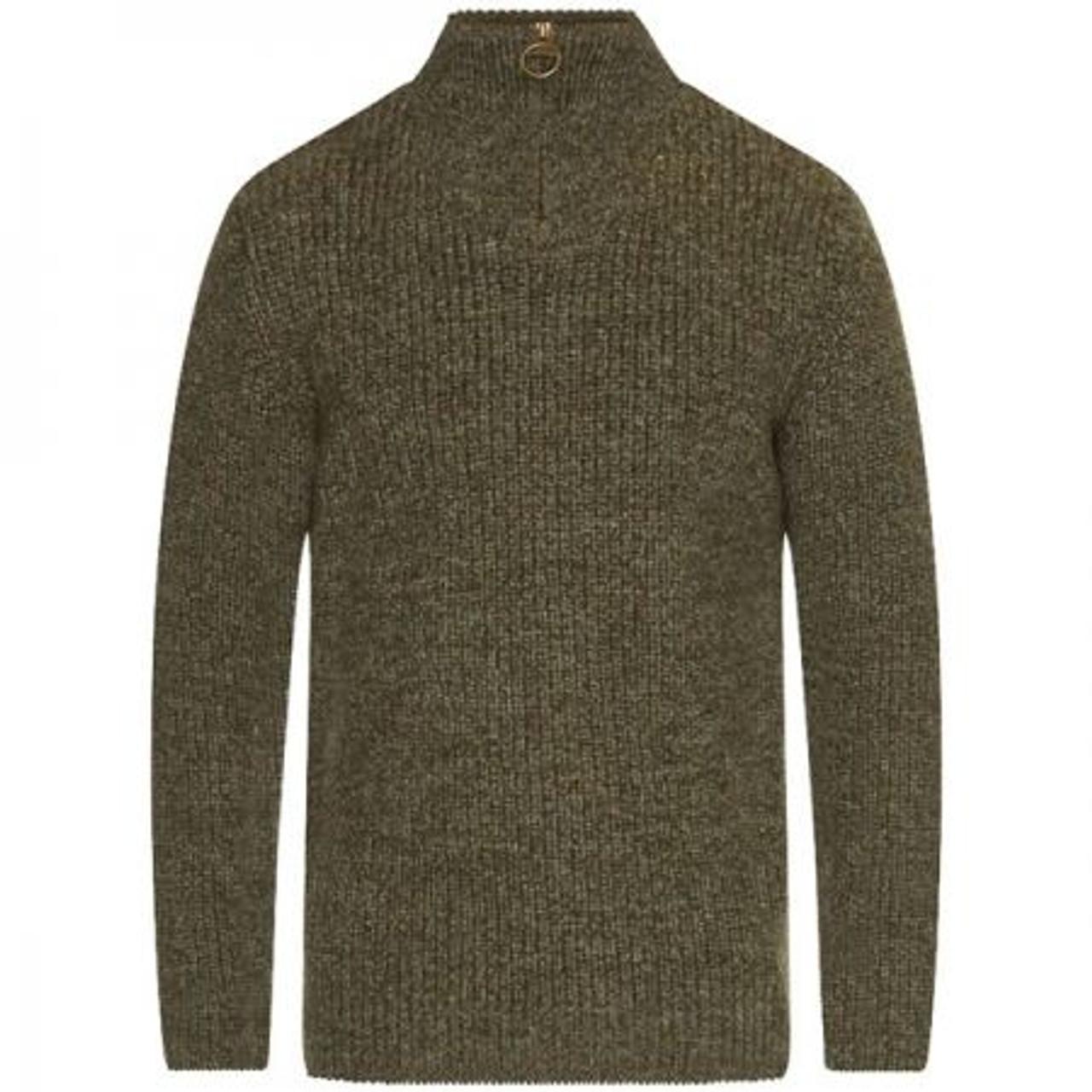 Barbour Mens New Tyne Half Zip Sweater