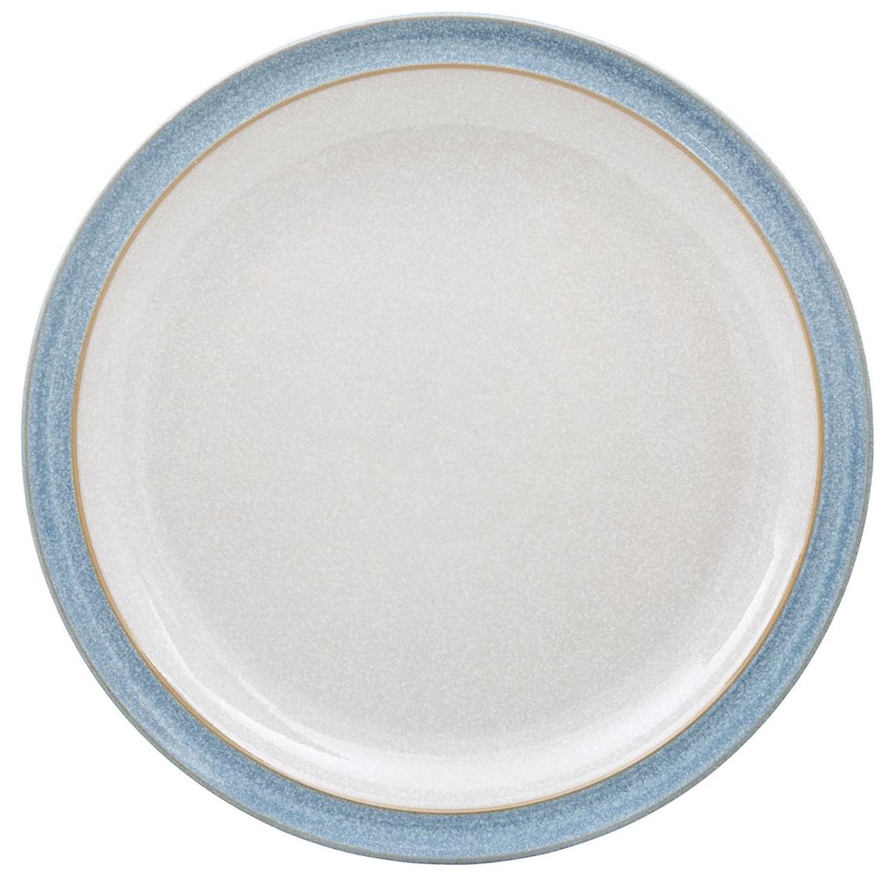 Denby Elements Light Blue Dinner Plate