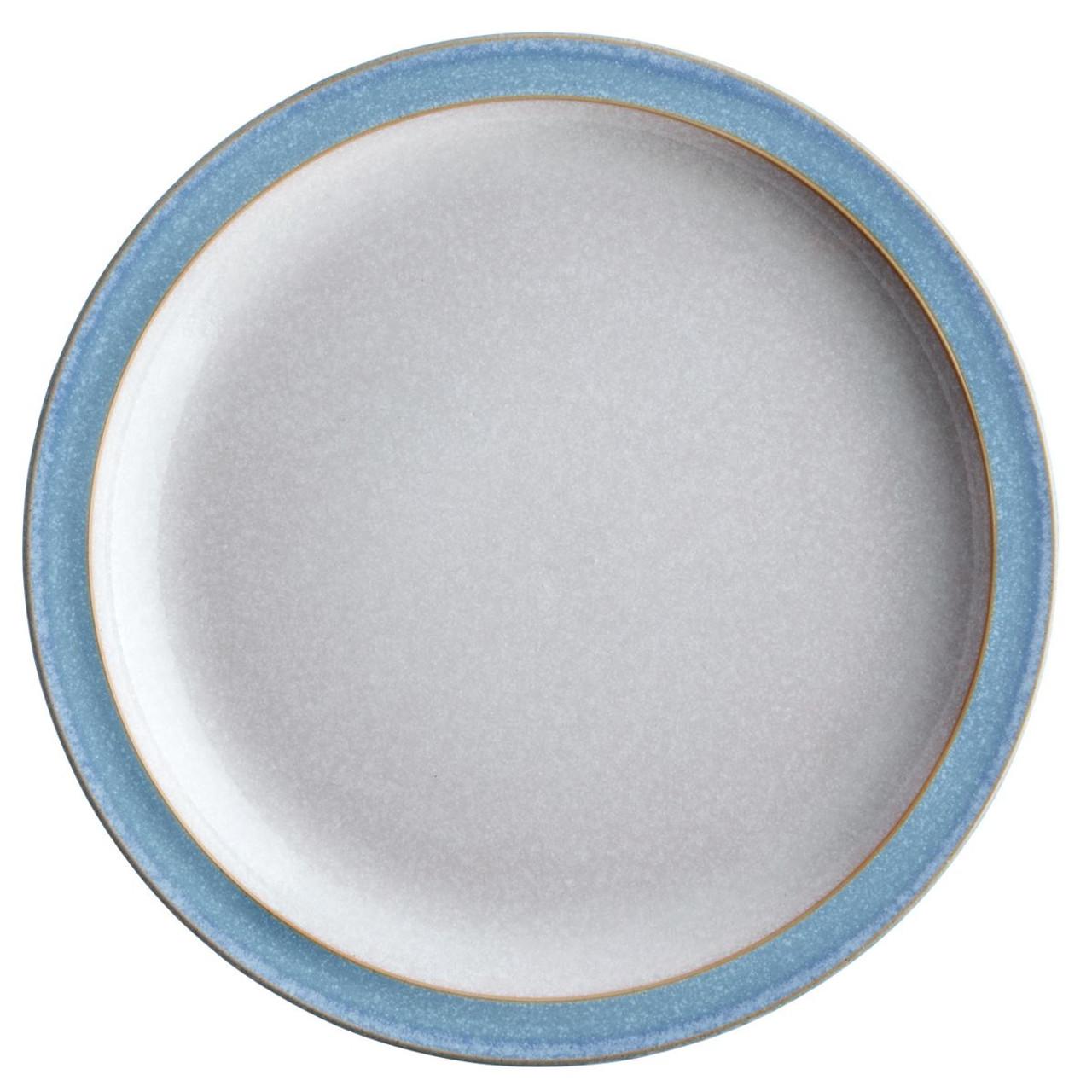 Denby Elements Light Blue Small Plate