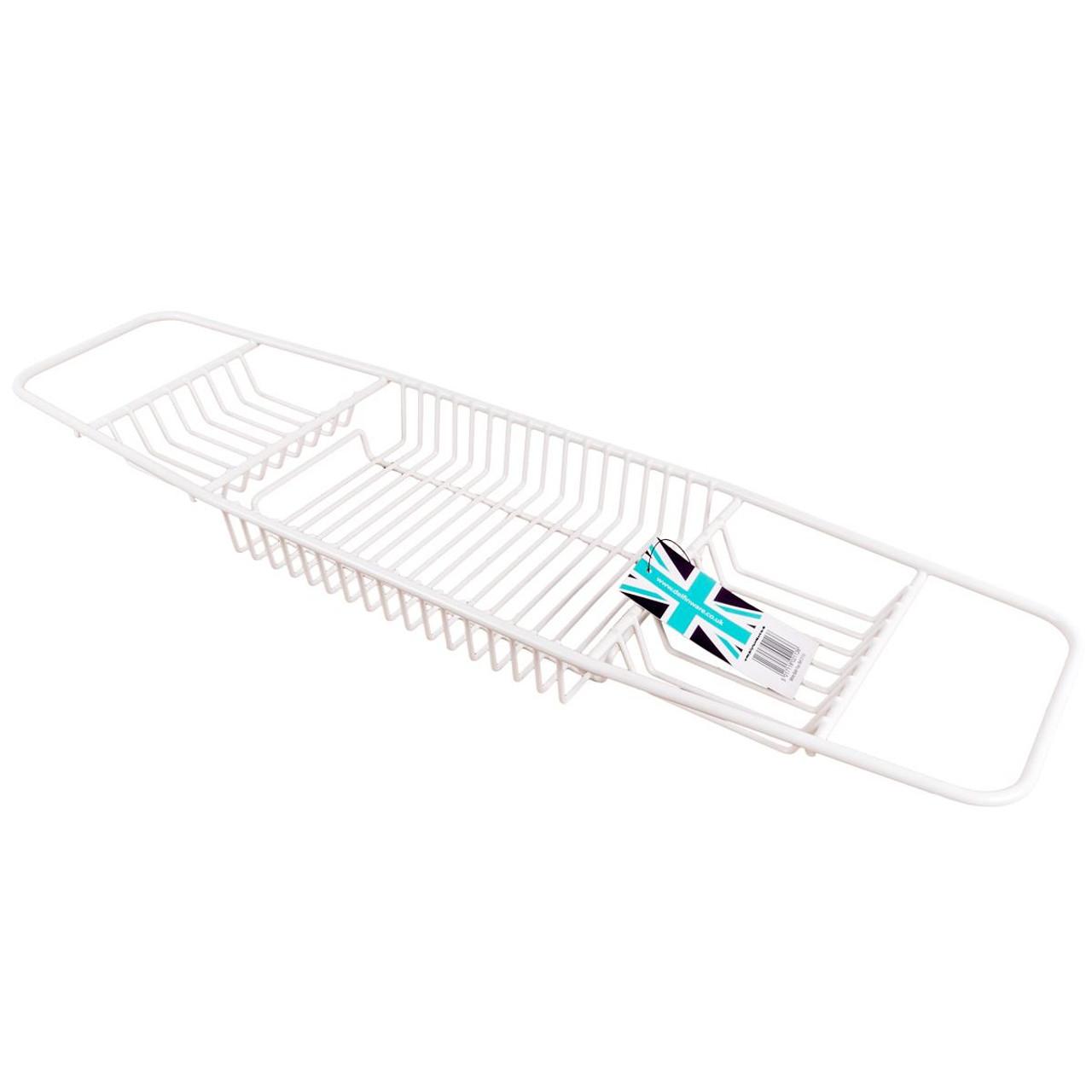Delfinware Bath Tray in White