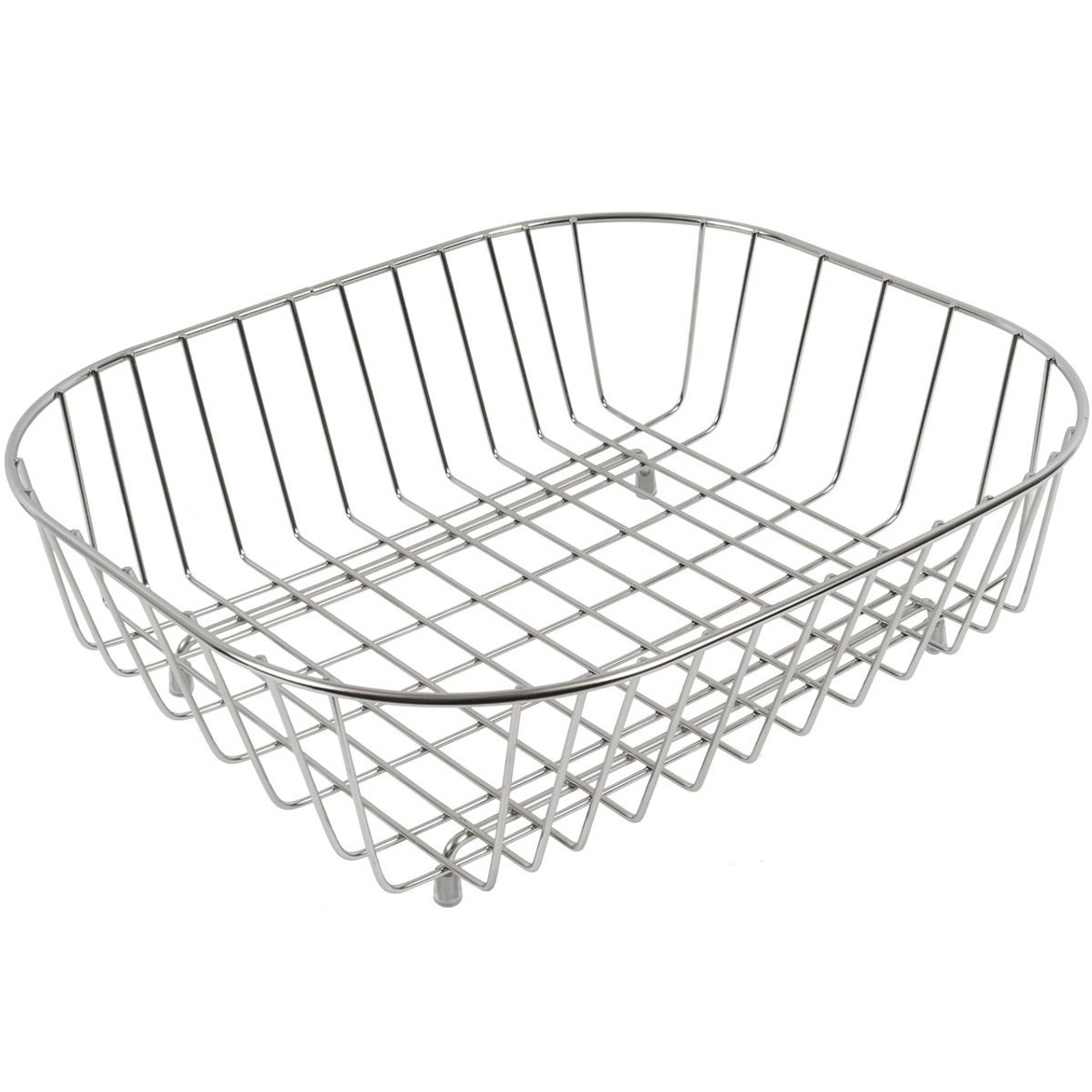 Delfinware Stainless Steel Oval Sink Basket