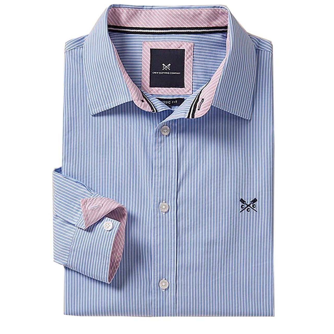 Crew Clothing Classic Micro Stripe Shirt