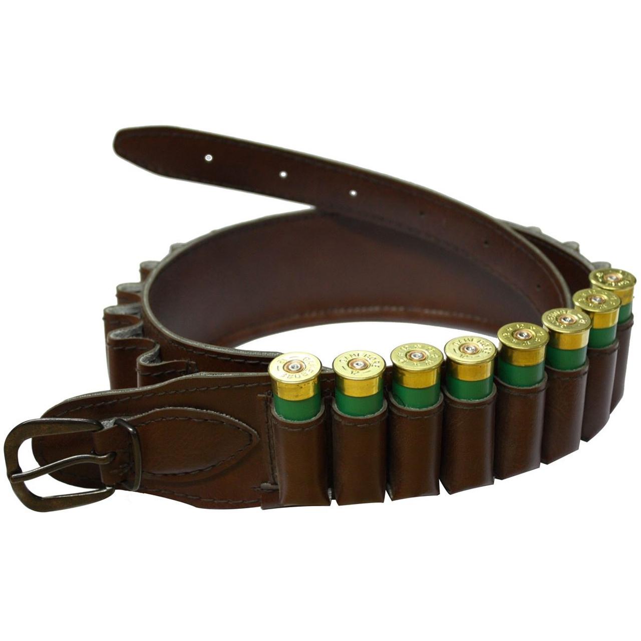 Brown Bisley Cartridge Belt