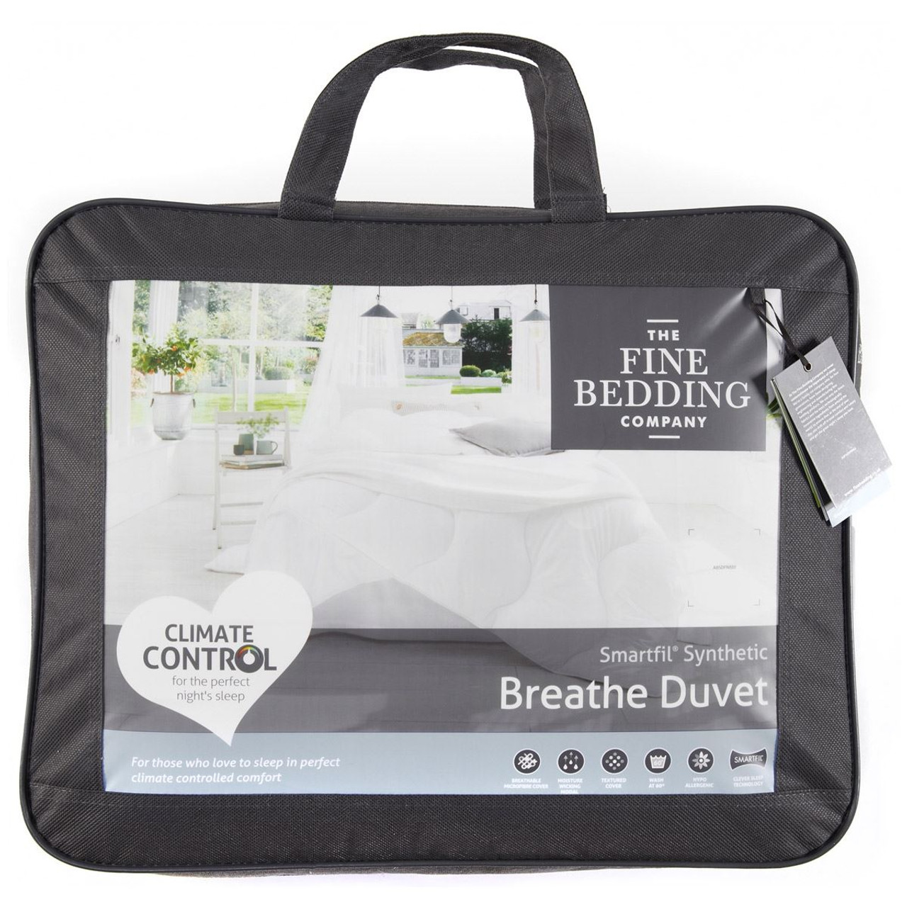 The Fine Bedding Company Breathe Duvet packaging