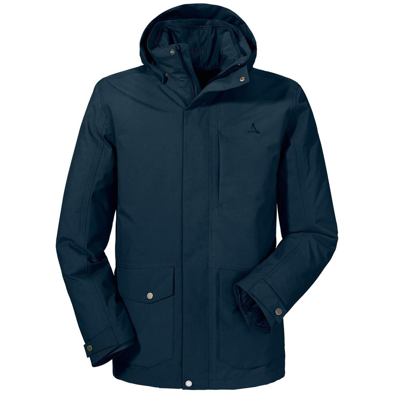 True Navy Schoffel Mens Longwood Jacket