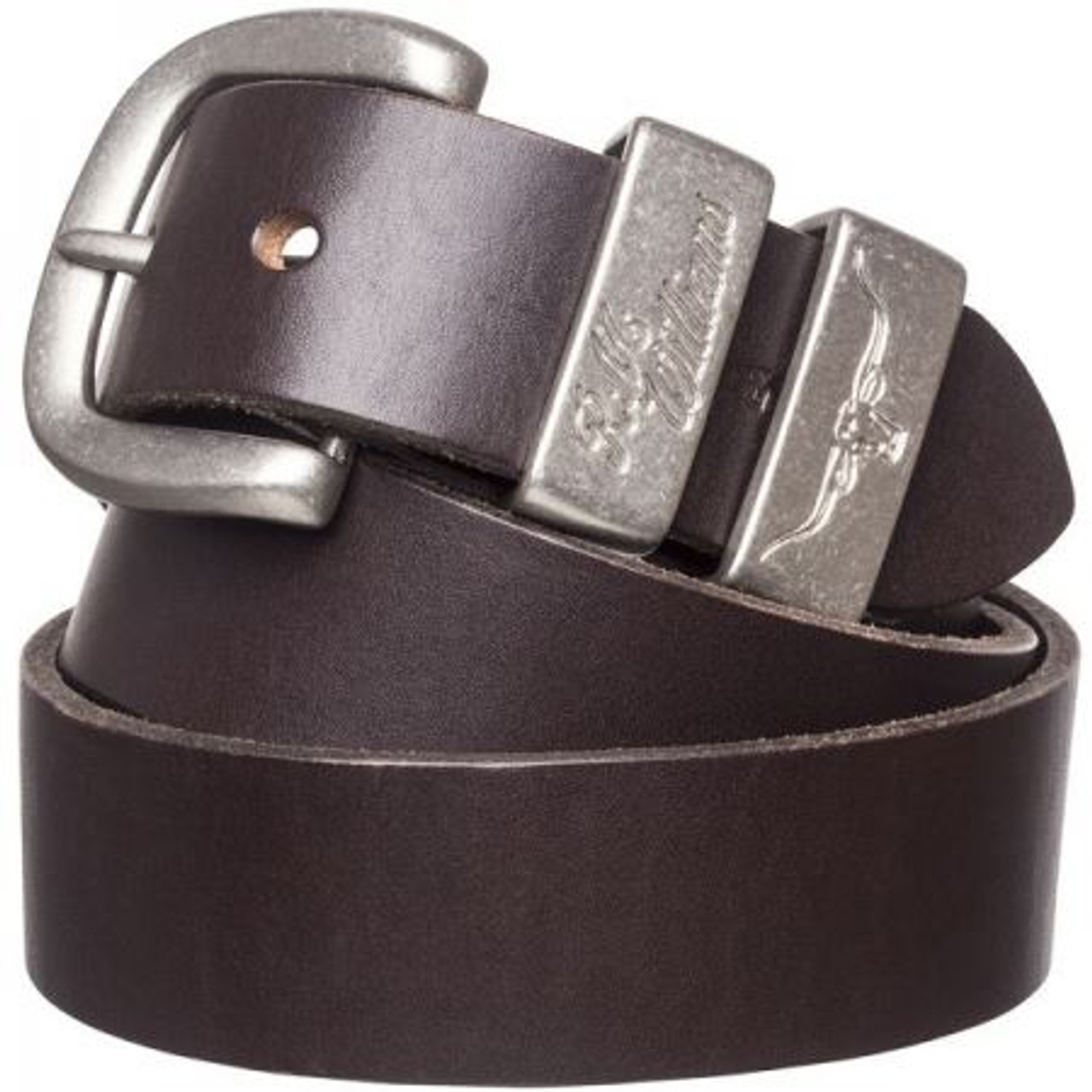 R.M. Williams Mens 3 Piece Buckle Work Belt