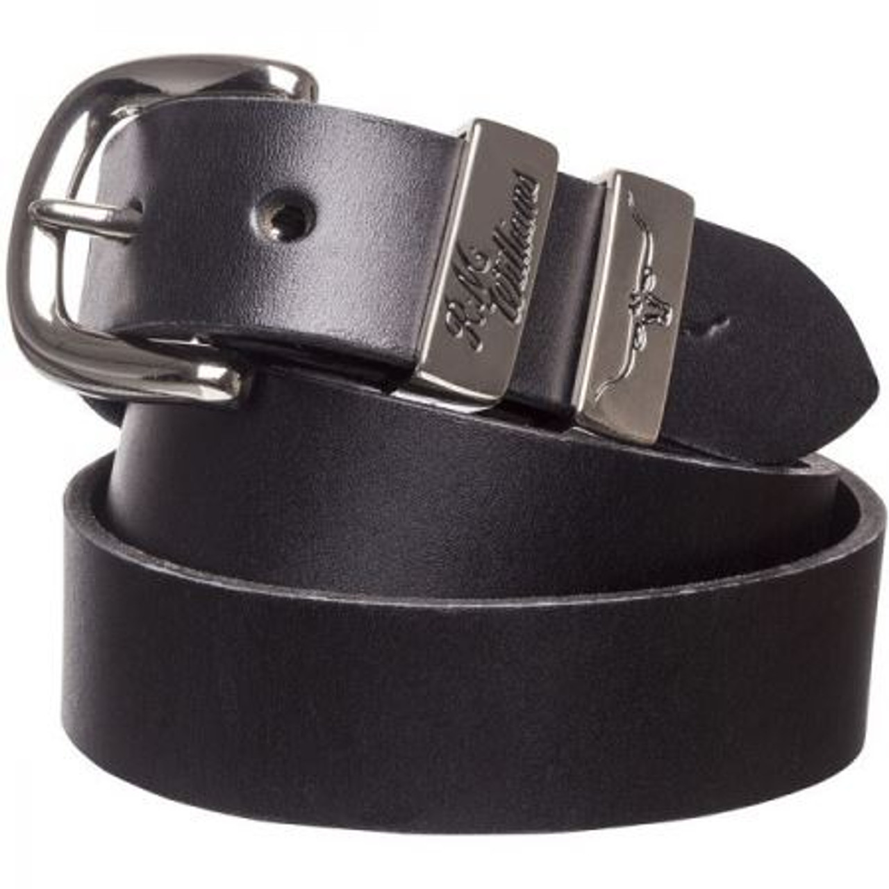 R.M. Williams 1.25 Inch Solid Hide Belt
