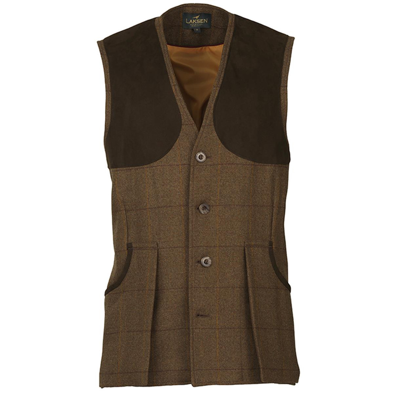 Laksen Mens Bowcombe Shooting Vest