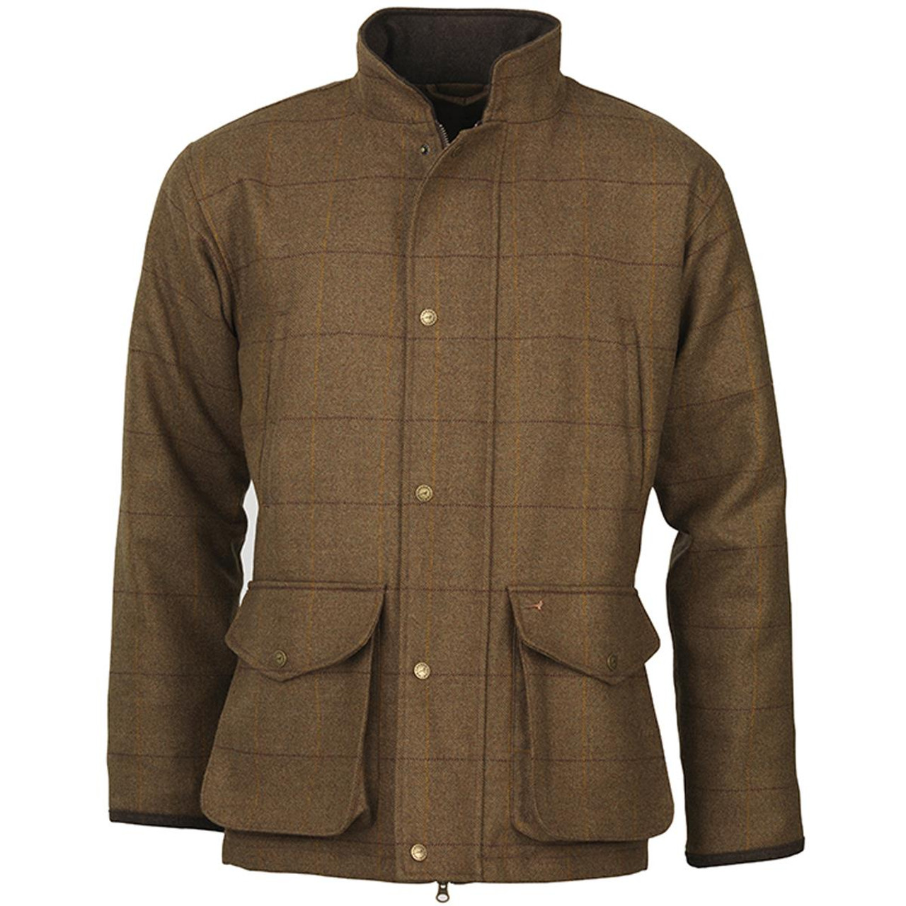Laksen Mens Chatsworth Tweed Coat