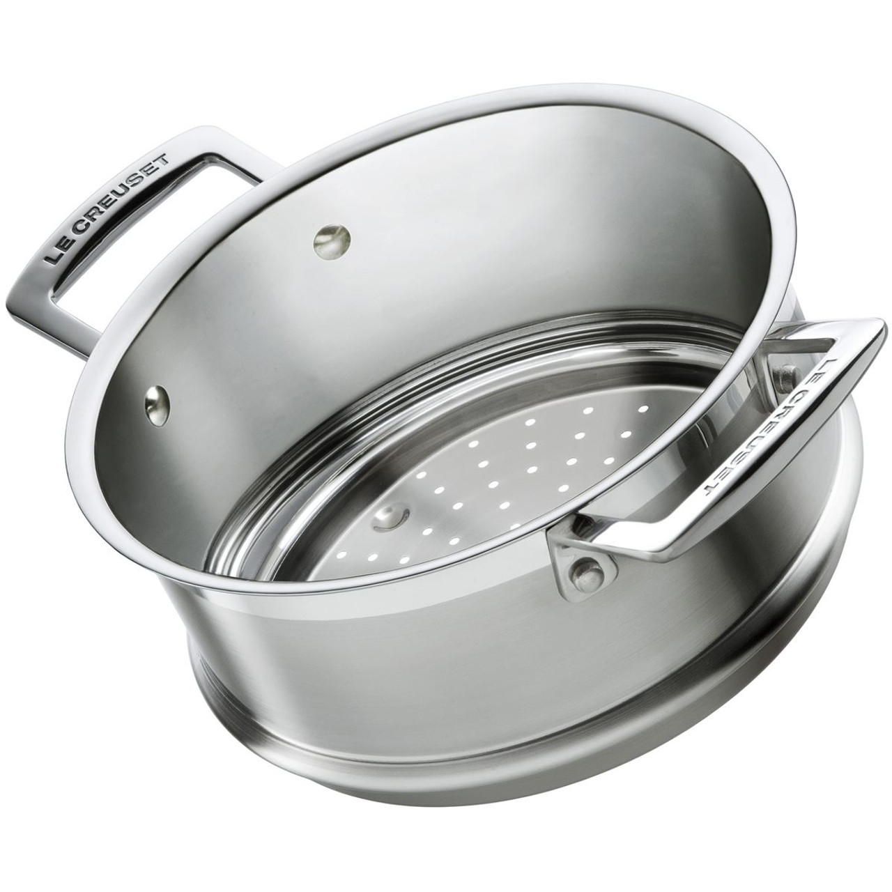 Le Creuset 20cm 3 Ply Stainless Steel Steamer
