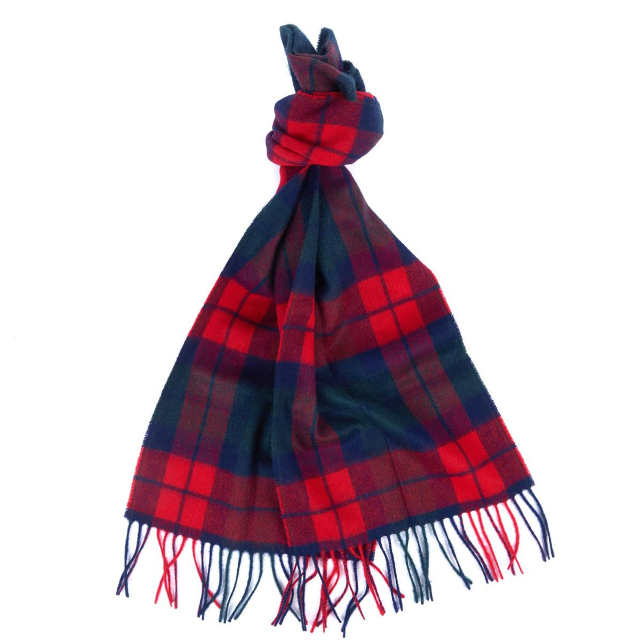 Barbour Unisex New Check Tartan Scarf