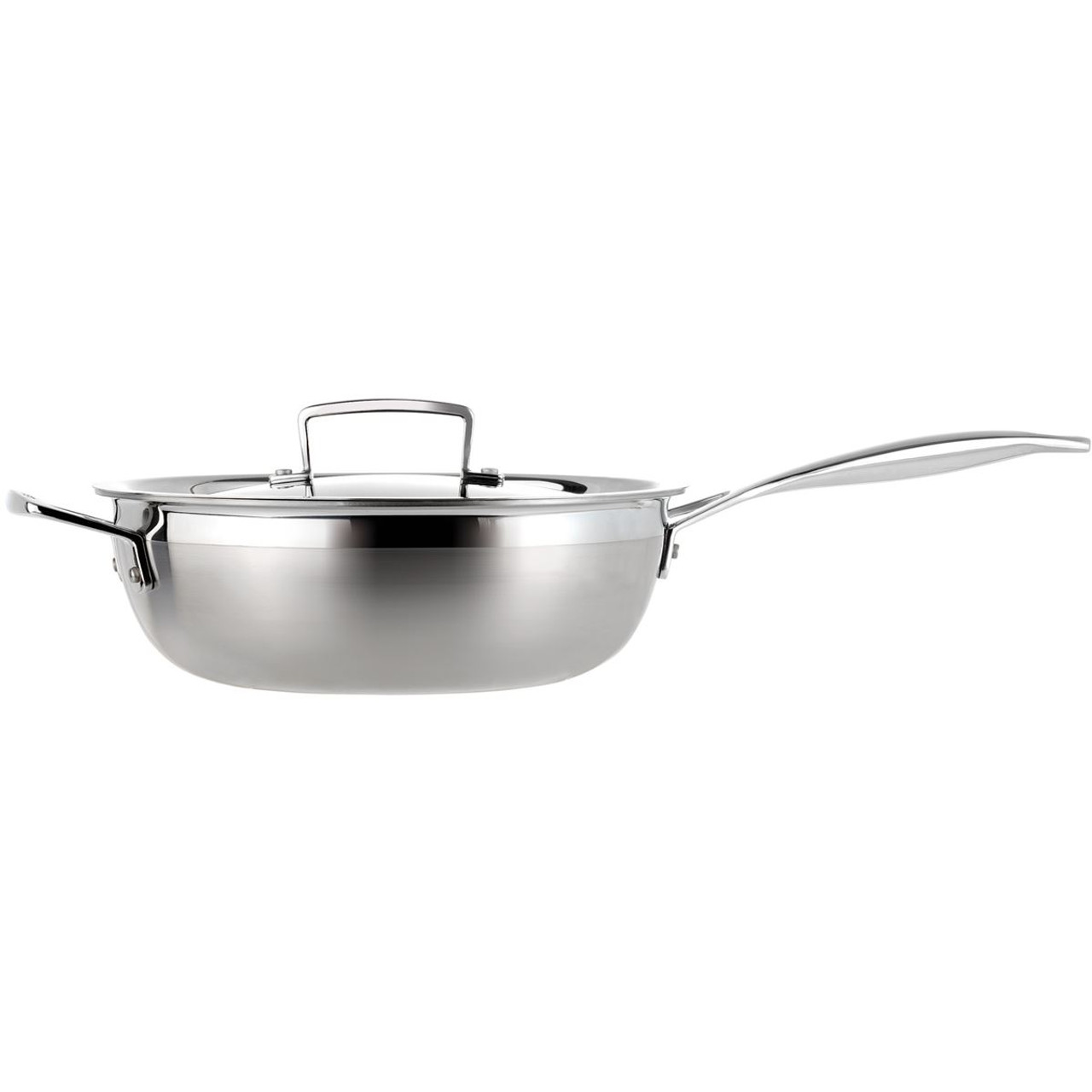 Le Creuset 24cm 3 Ply Stainless Steel Non-stick Chefs Pan