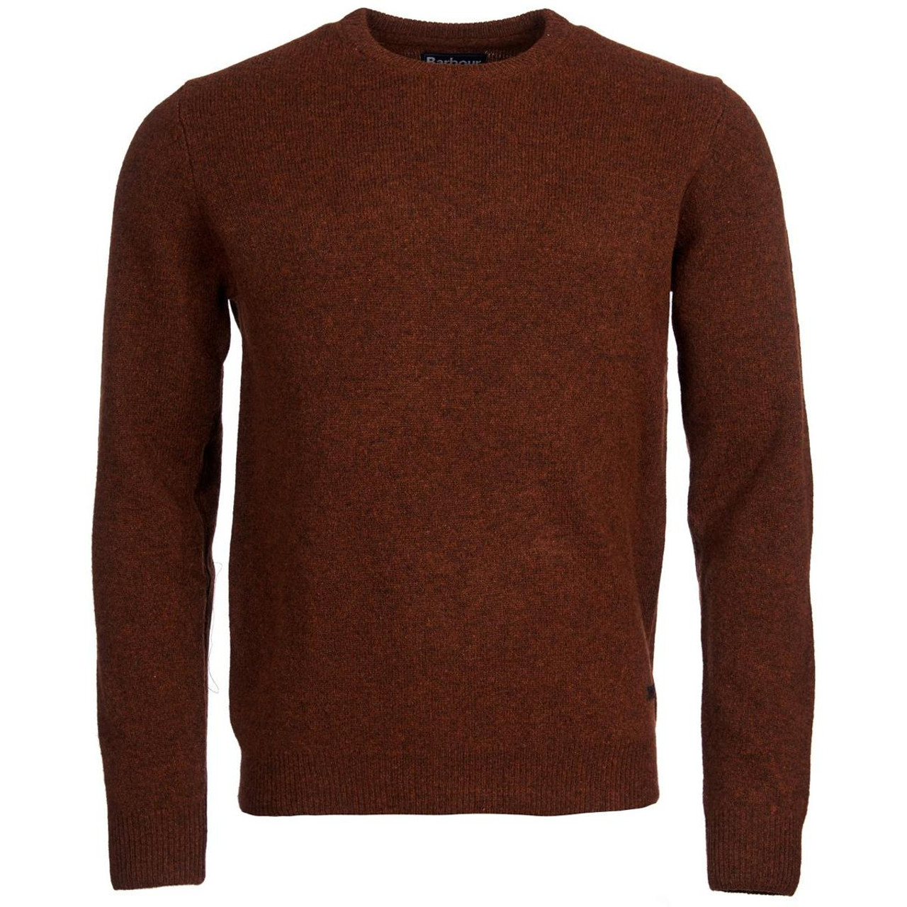 Barbour Mens Patch Crew Neck Sweater