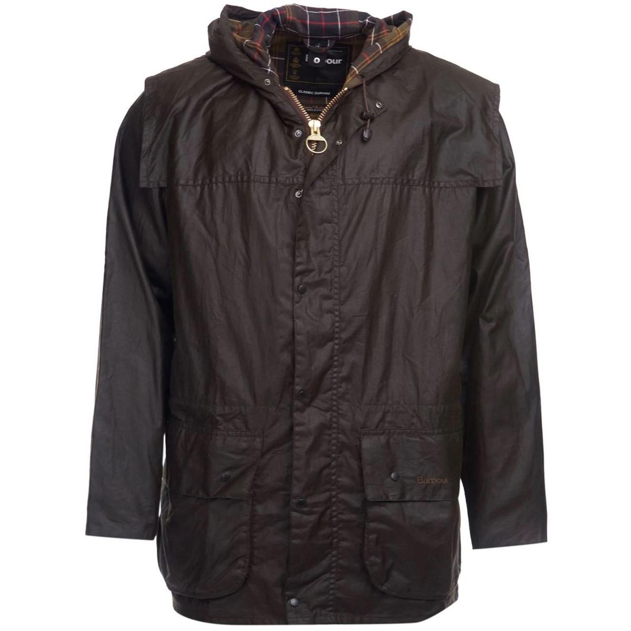 Barbour Mens Classic Durham Wax Jacket