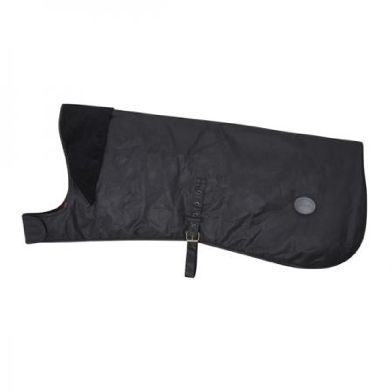 Black Barbour Wax Dog Coat