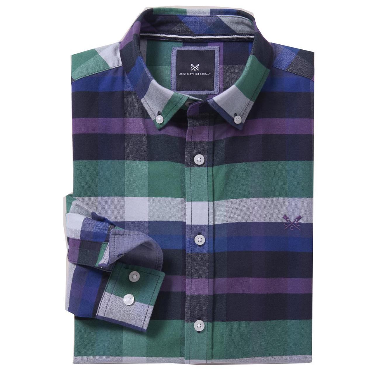 Crew Clothing Mens Thorley Slim Oxford Shirt