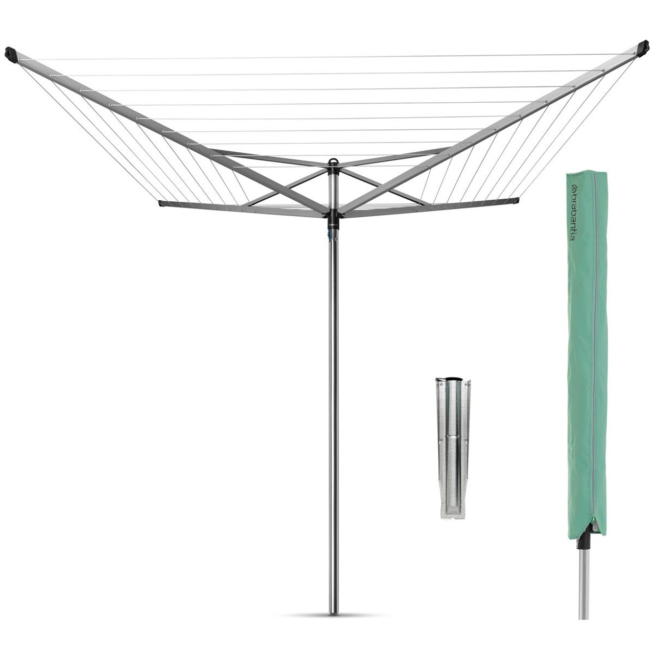 Brabantia Rotary Topspinner With Cover 50m