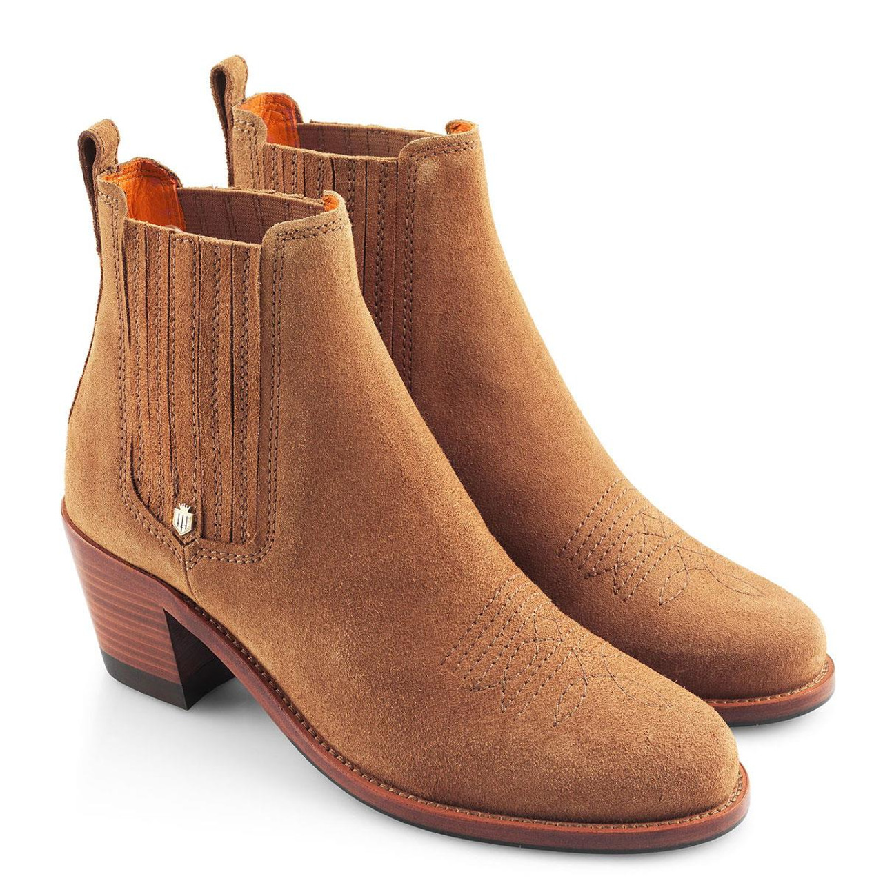 Tan Fairfax & Favor Womens Rockingham Ankle Boot