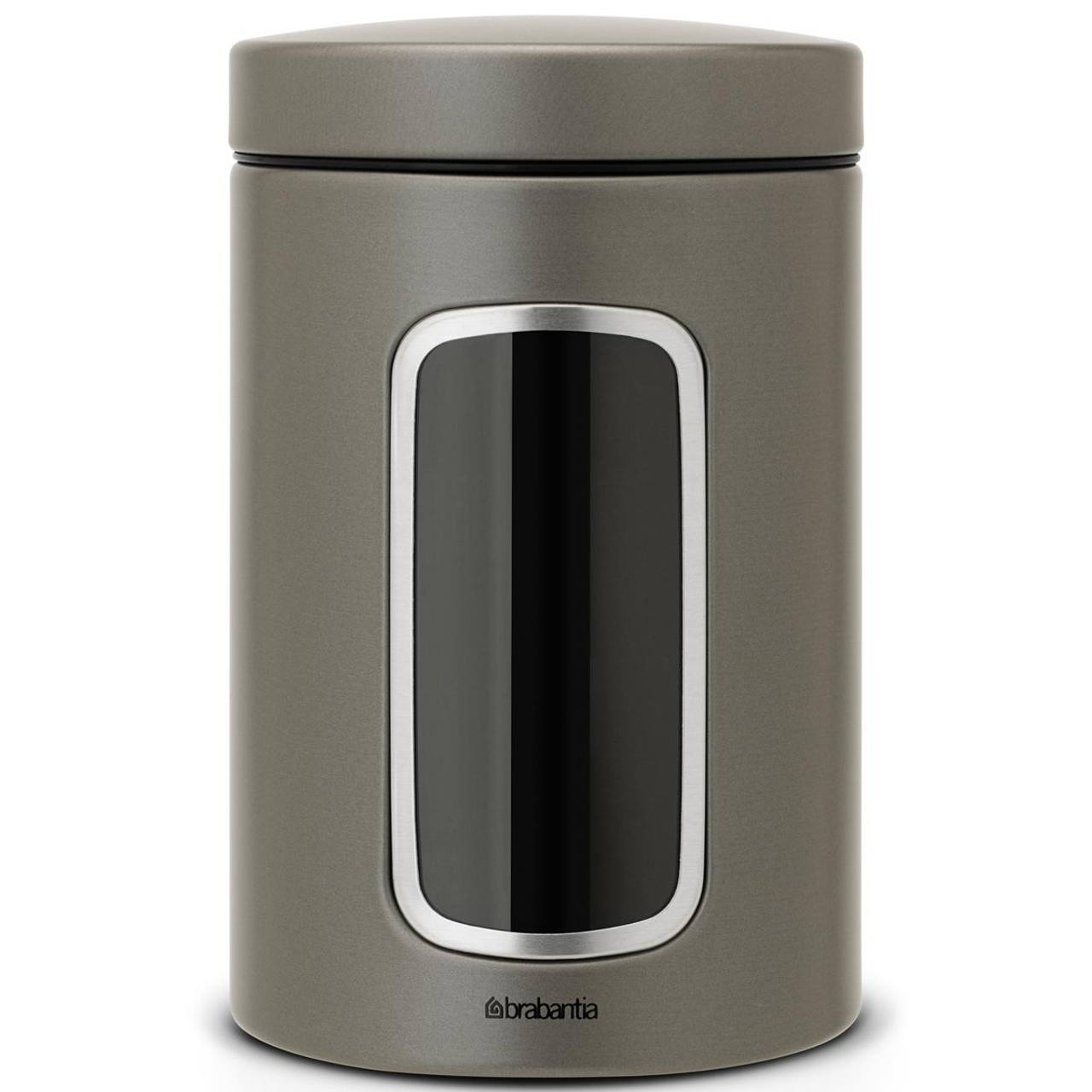 Brabantia Window Storage Canister 1.4 Litre