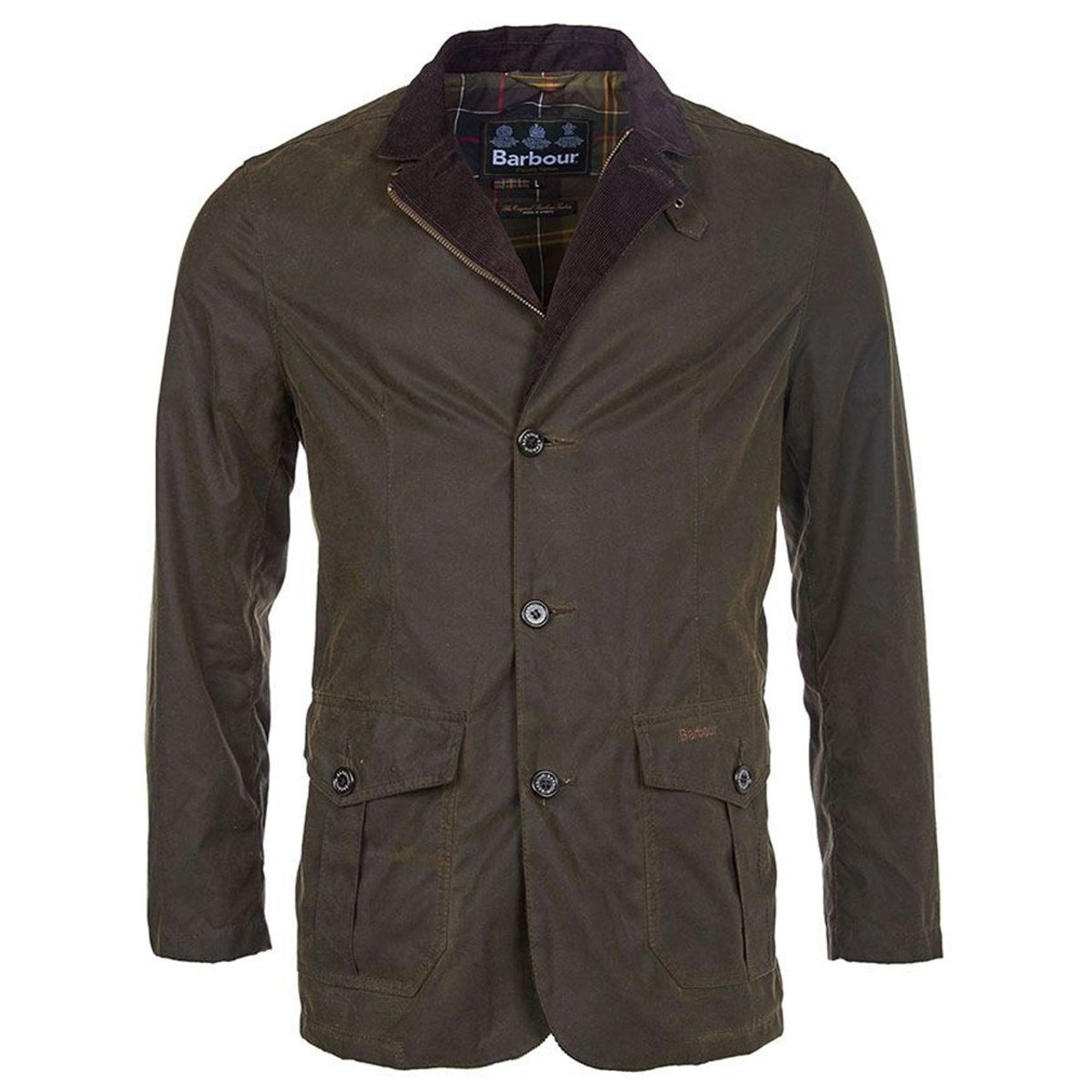 Barbour Mens Lutz Wax Jacket