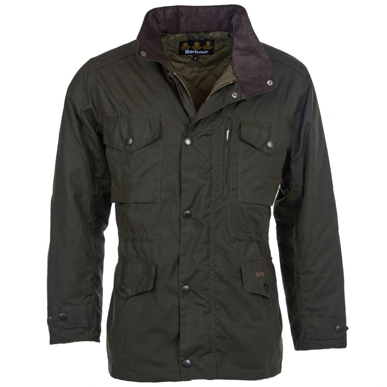 Barbour Mens Sapper Wax Jacket