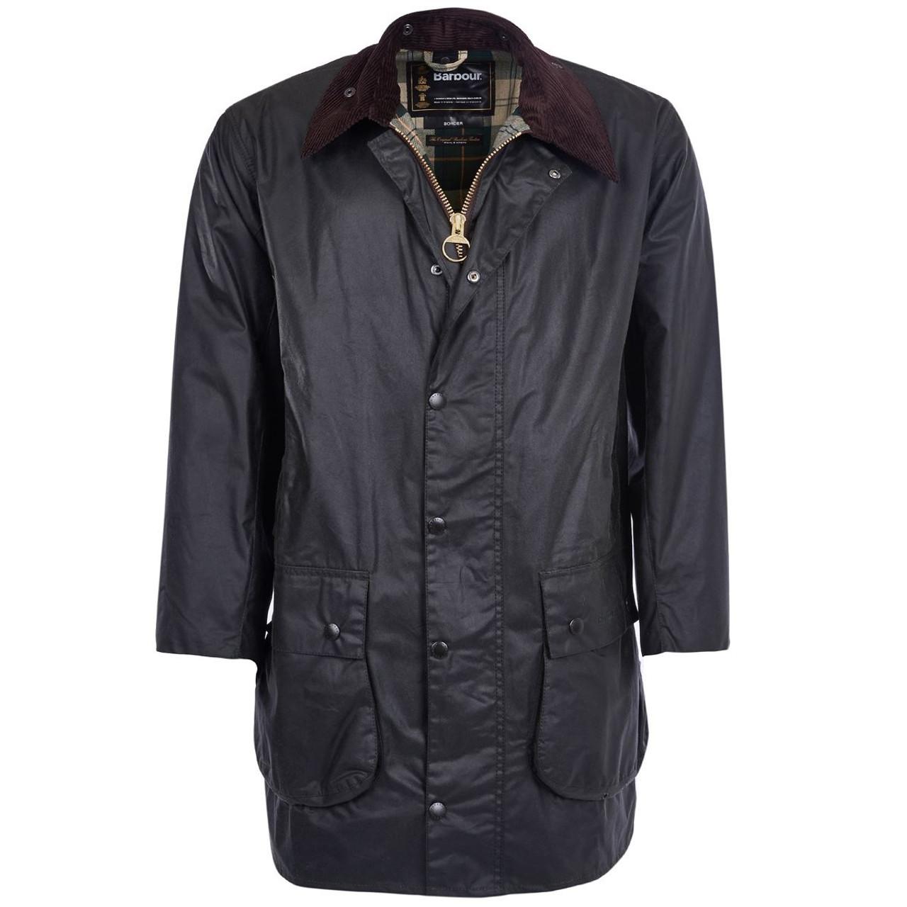 Barbour Border Wax Jacket