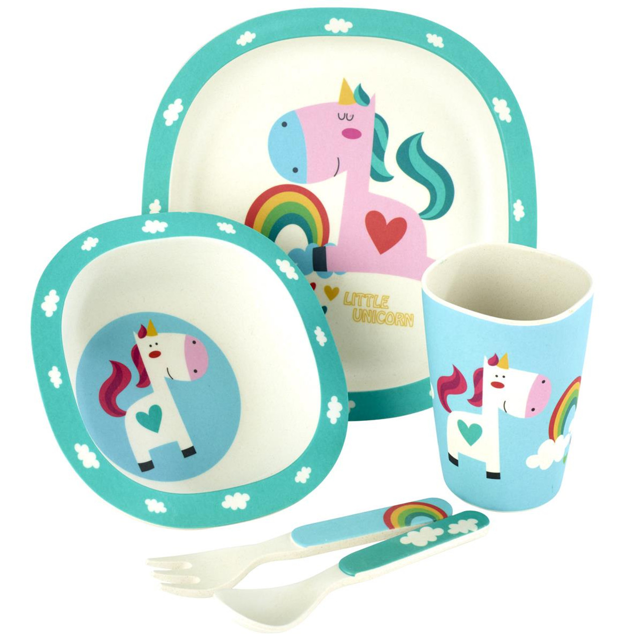 Arthur Price Unicorn Bamboo Set
