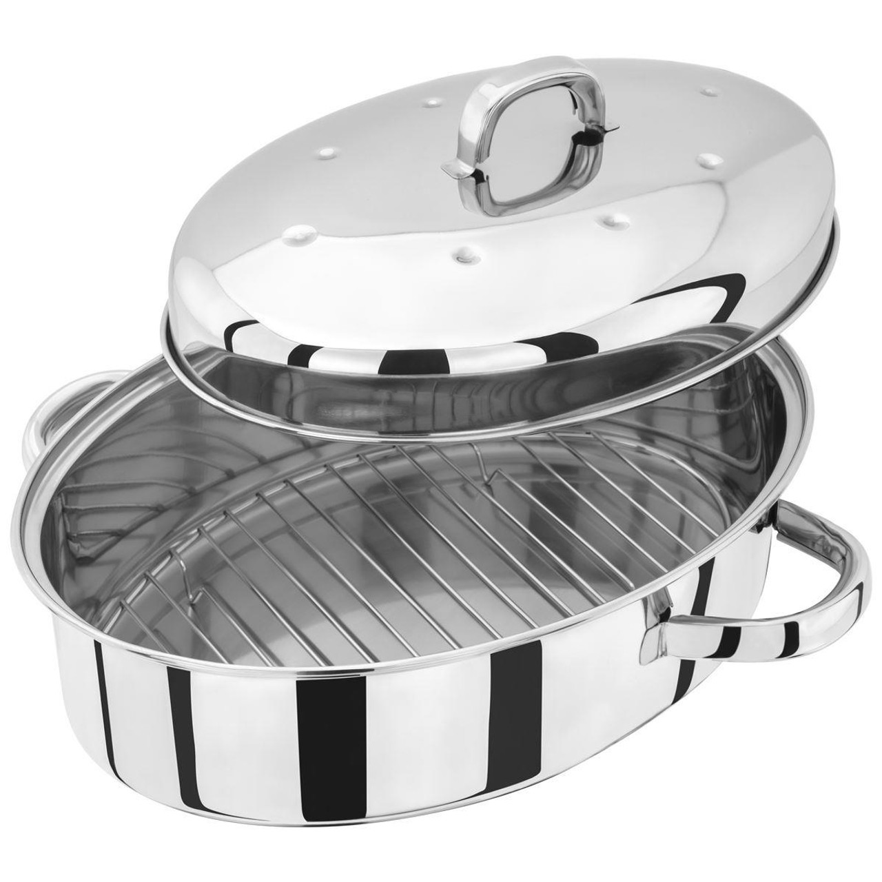 Judge Speciality High Oval Roaster With Rack