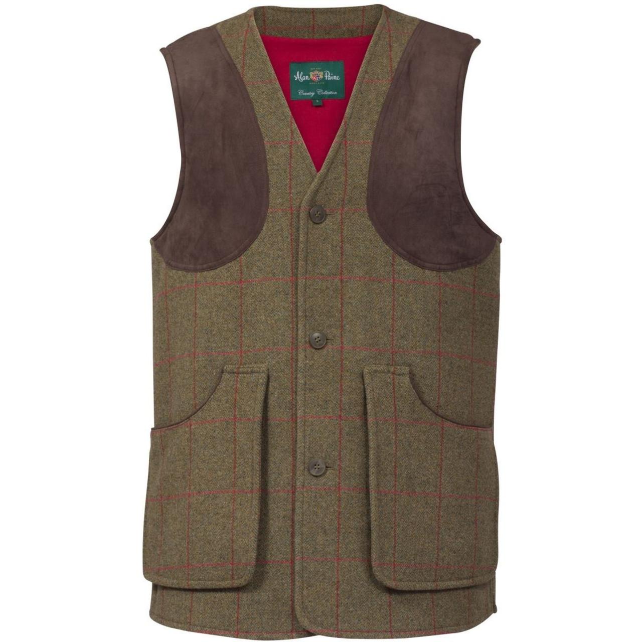 Alan Paine Mens Combrook Waistcoat