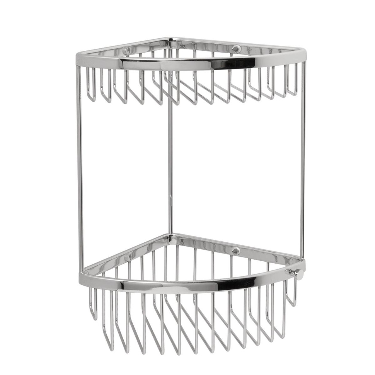 Miller Two Tier Classic Corner Basket With Hook
