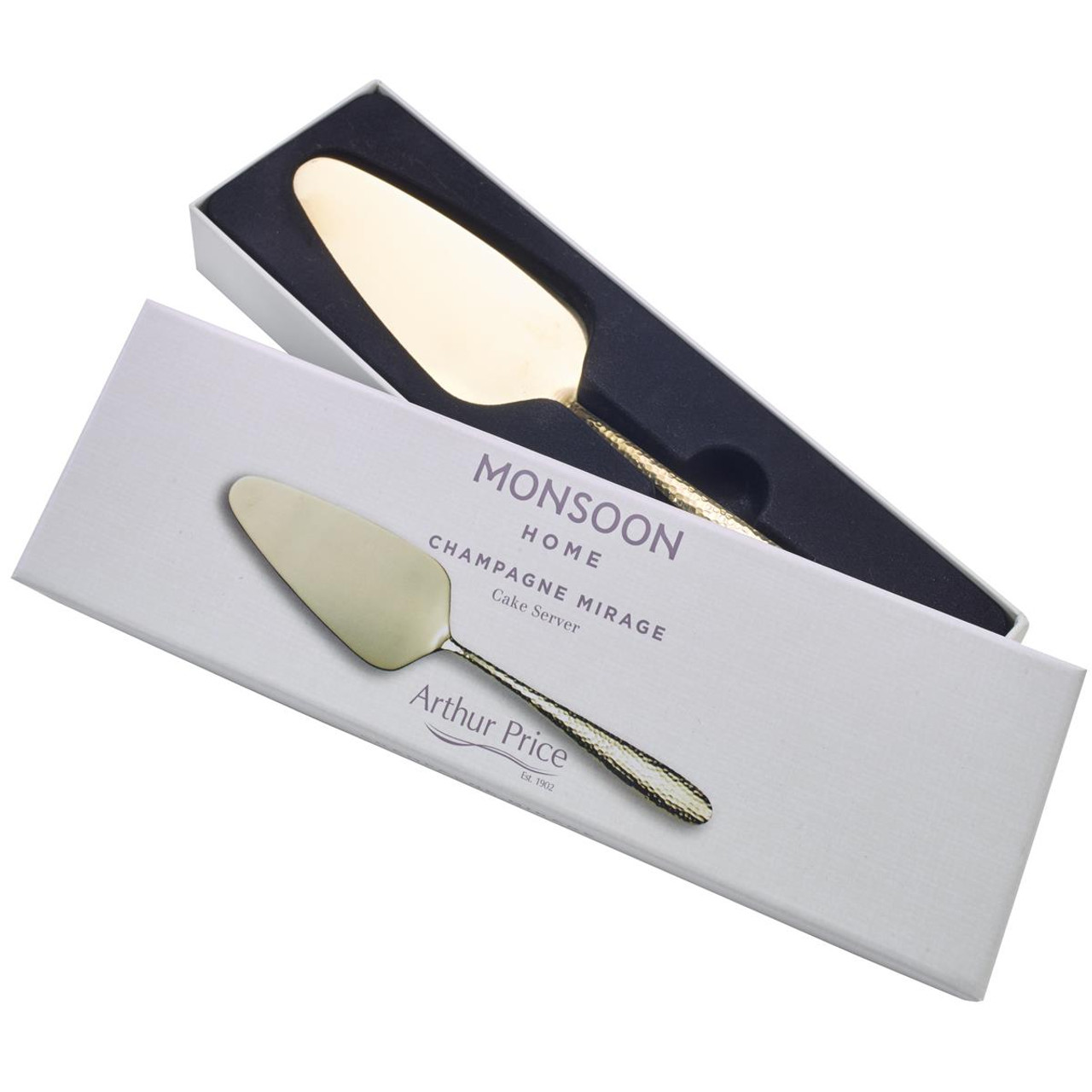 Arthur Price Monsoon Champagne Mirage Cake Slice