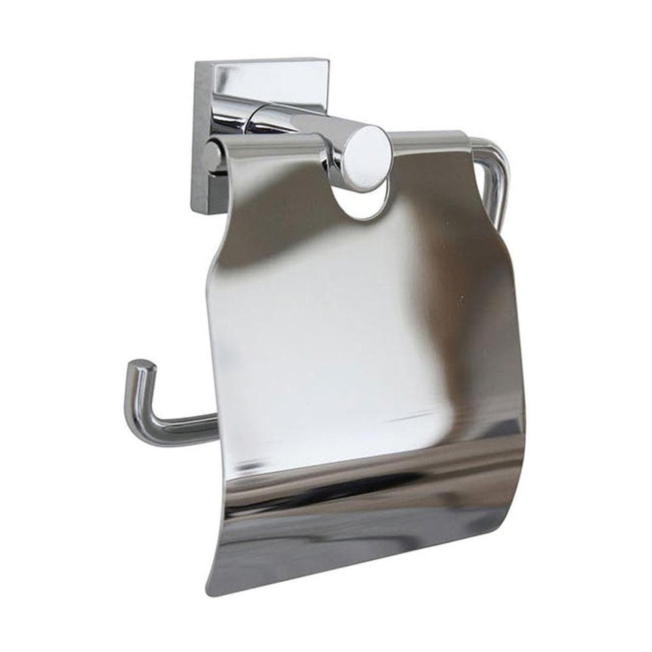 Miller Bond Toilet Roll Holder With Lid