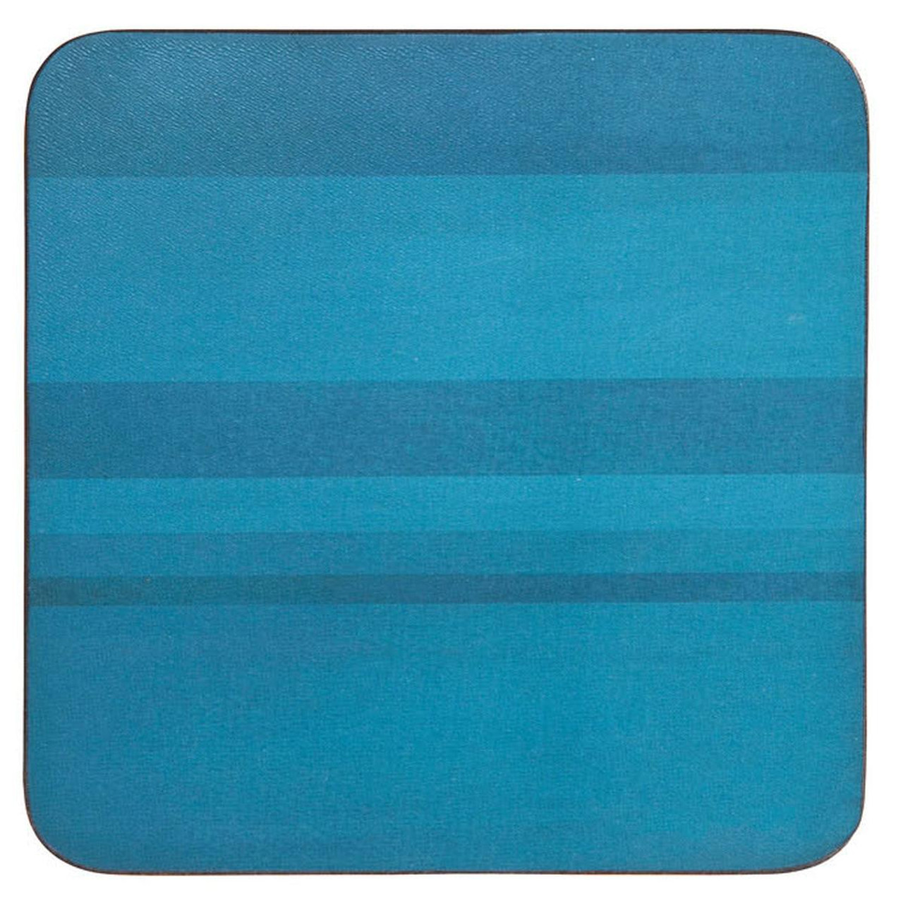 Denby Colours Turquoise Set Of 6 Coasters