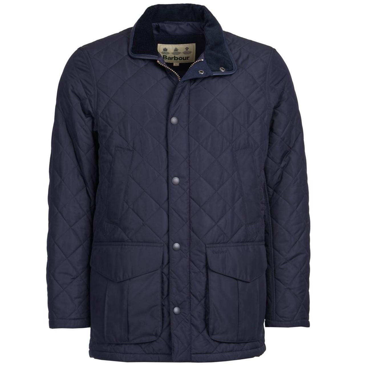 Barbour Mens Devon Quilted Jacket