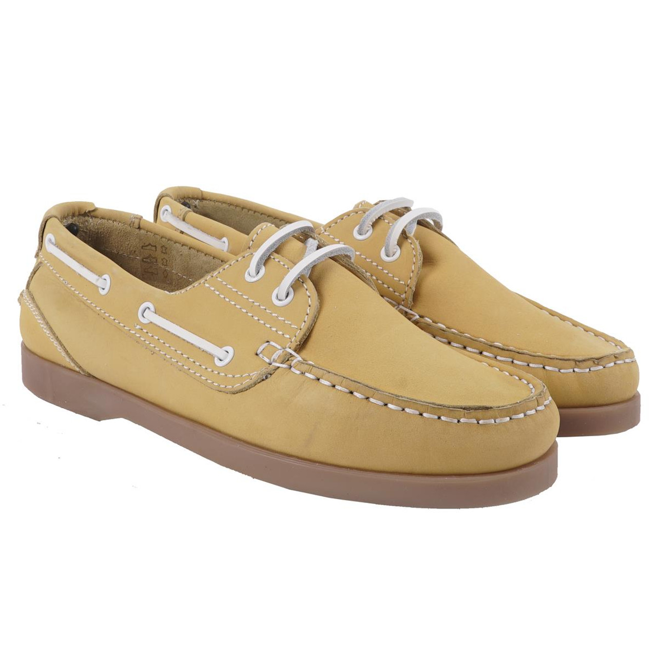 Crew Clothing Womens Leather Boat Shoe