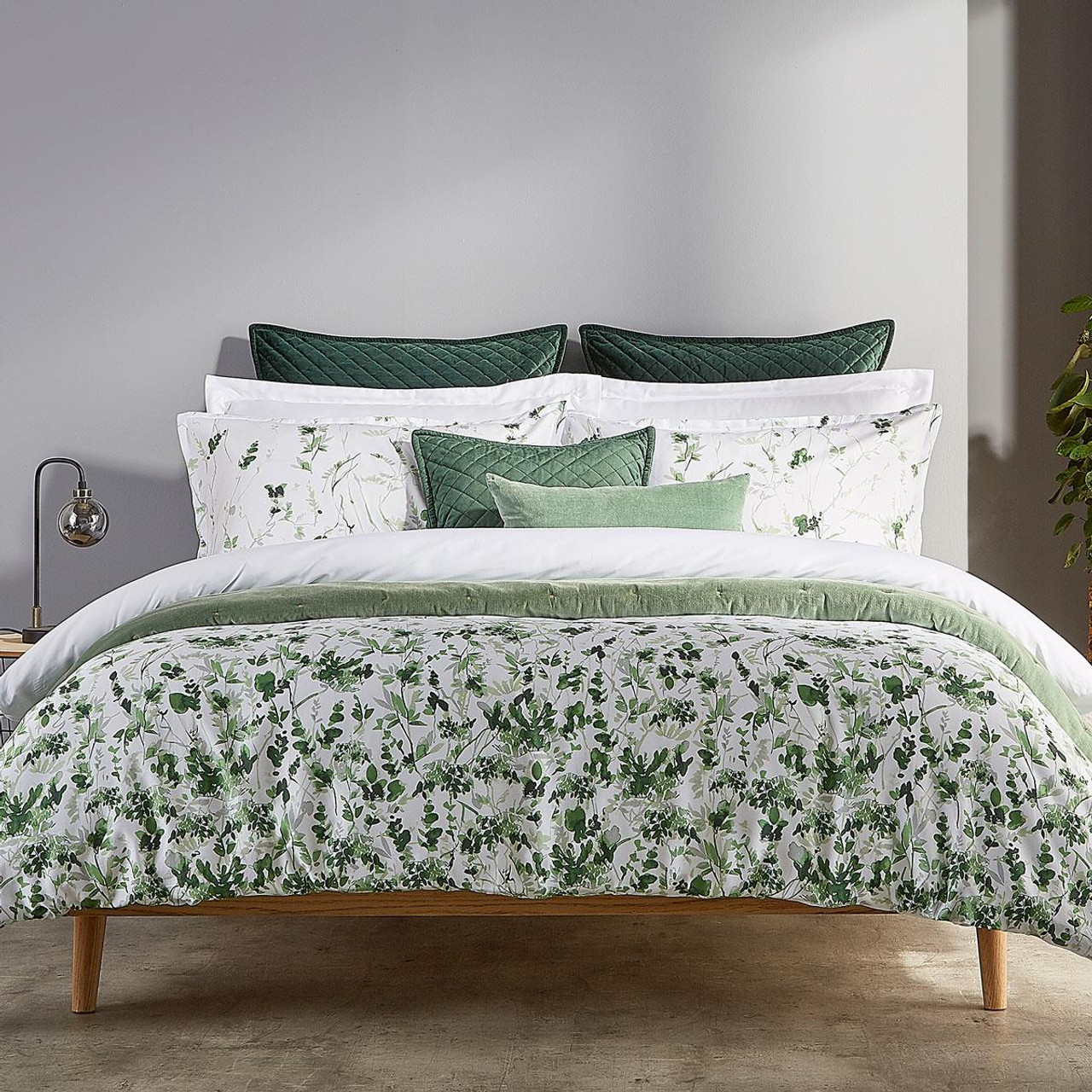 Christy Leaf Fronds Duvet Set