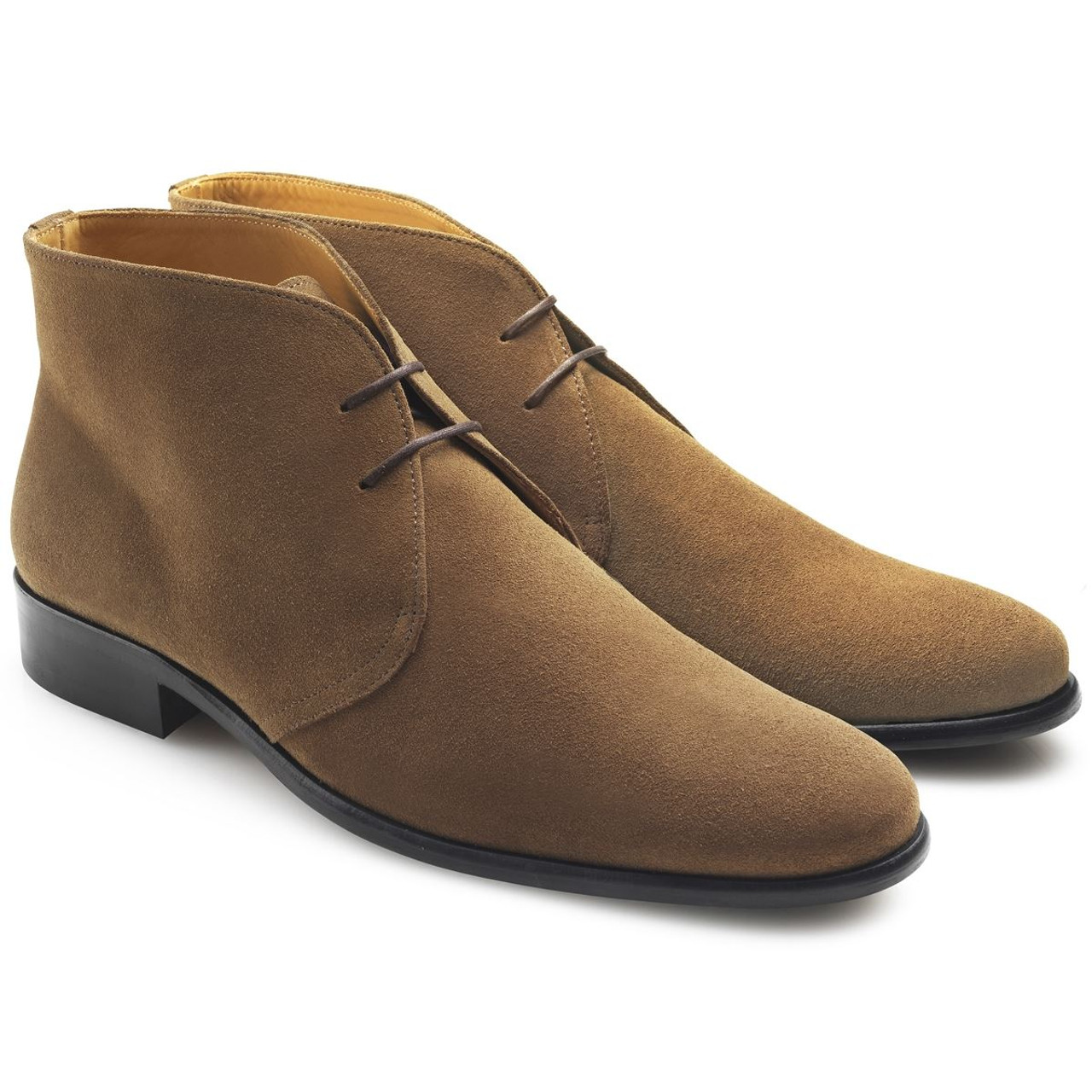 Tan Fairfax & Favor Mens Desert Boot
